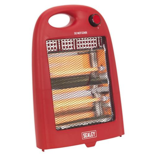 Sealey 800W Quartz Heater Sealey 800W Quartz Heater - Click to view a larger image