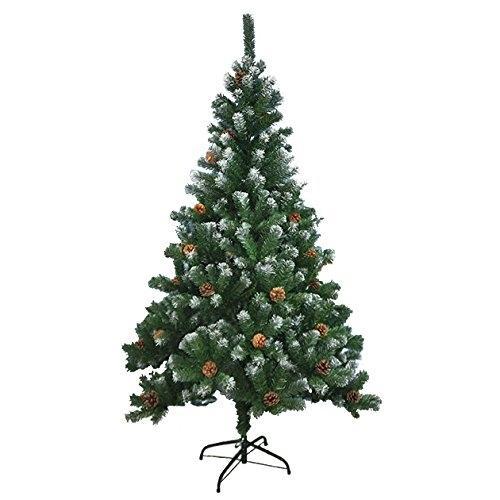 7ft Christmas Tree Tesco: Benross Artificial Green Christmas Tree With Snow Tips