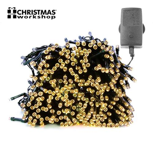 Benross Warm White Ultra Bright LED String Chaser Lights Benross Warm White Ultra Bright LED String Chaser Lights - Click to view a larger image