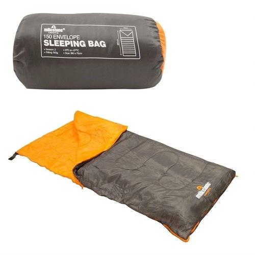 Milestone Single Envelope Sleeping Bag  Electrical World
