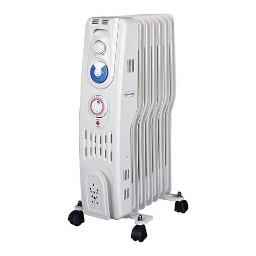 Silent Night 1.5kw 7 Fin S Type Oil Filled Radiator with Timer Silent Night 1.5kw 7 Fin S Type Oil Filled Radiator with Timer - Click to view a larger image