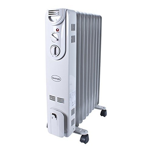 Silent Night 2Kw 9 Fin Oil Filled Radiator Silent Night 2Kw 9 Fin Oil Filled Radiator
