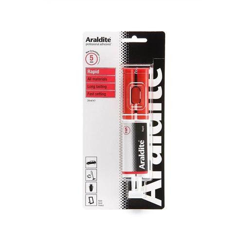Araldite Rapid 2-Part Epoxy Adhesive Syringe 24ml