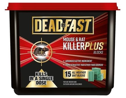 Image of Deadfast Mouse and Rat Killer Plus Poison, 15 Block