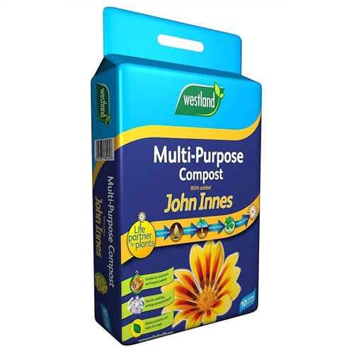 Westland Multipurpose Compost with Added John Innes, 10L Pouch Westland Multipurpose Compost with Added John Innes - Click to view a larger image