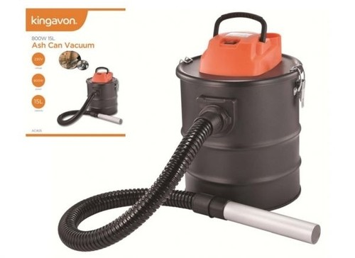Kingavon 800W 15L Ash Can Vacuum Cleaner  - Click to view a larger image