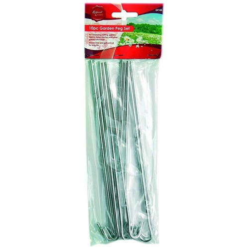 Redwood Garden & Tent Pegs - 10 Pack   Electrical World