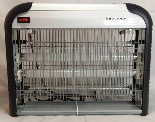 Kingavon 2 x 10W Electric Insect Killer  Front View - Click to view a larger image