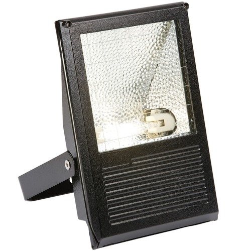 KnightsBridge IP54 150W HQI Die-Cast Aluminium Floodlight   - Click to view a larger image