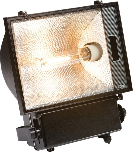 KnightsBridge IP54 250W Die-Cast Aluminium SON/HQI Floodlight  - Click to view a larger image