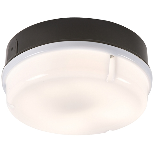 KnightsBridge IP65 16W Round Bulkhead with Opal Diffuser  - Click to view a larger image