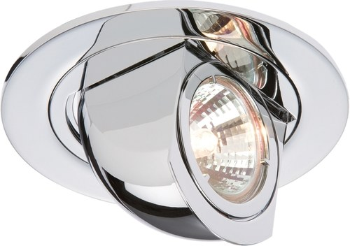 KnightsBridge IP20 12V 50W max. Swivel & Scoop Fitting  - Click to view a larger image