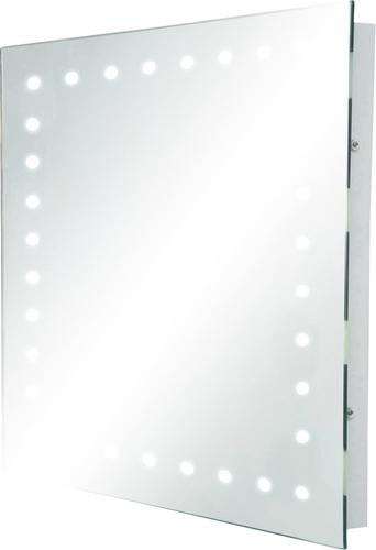 KnightsBridge IP44 Rectangular LED Bathroom Mirror   - Click to view a larger image