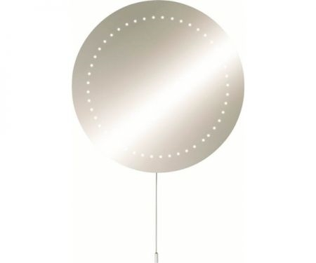 KnightsBridge IP44 Round LED Bathroom Mirror  - Click to view a larger image