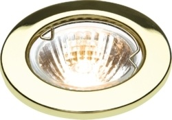 KnightsBridge IP20 12V 50W max. L/V Downlights with Bridge 1
