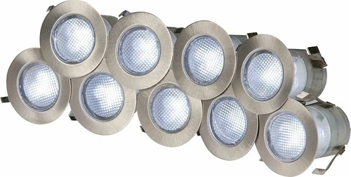 KnightsBridge 230V IP65 10 x 0.2w Cool White LED Kit 6000K  - Click to view a larger image