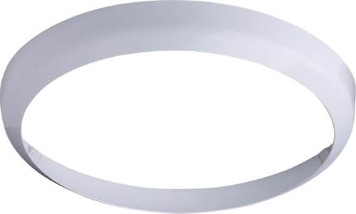 KnightsBridge White Bezel for 24W LED Bulkhead 400mm  - Click to view a larger image