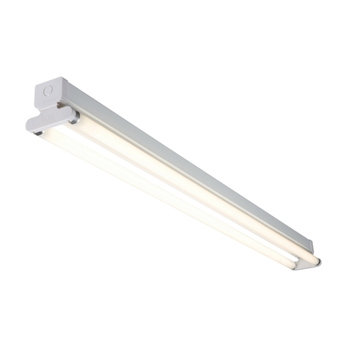 KnightsBridge 230V IP20 T8 2X70W Fluorescent Batten 6ft  - Click to view a larger image