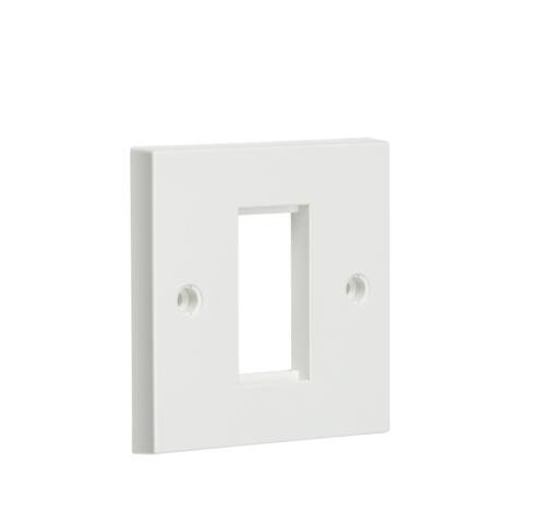 KnightsBridge White Modular Faceplate  - Click to view a larger image