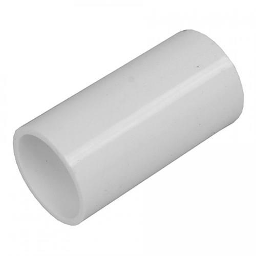 Greenbrook 20mm PVC Conduit Straight Coupler - White