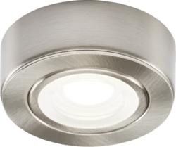 KnightsBridge Round LED Under Cabinet Fitting- Cool White