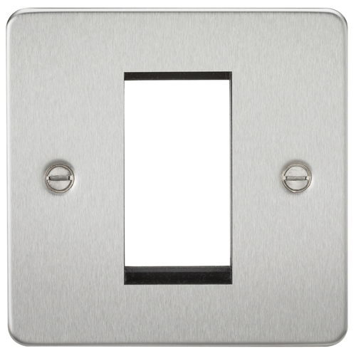 KnightsBridge 1G Modular Flat Plate Faceplate   - Click to view a larger image