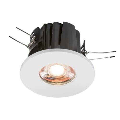 KnightsBridge 230V IP65 8W Fire-Rated Valknight LED Downlight   - Click to view a larger image