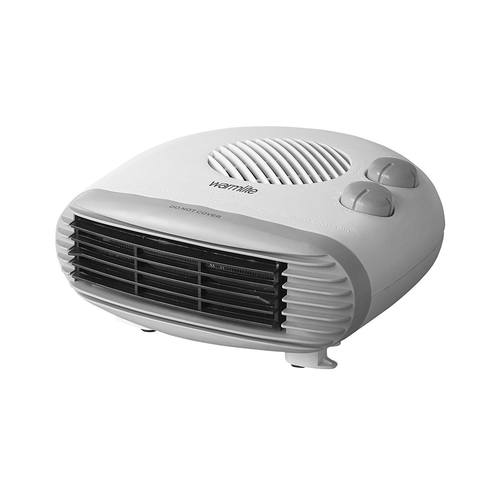 Warmlite 2kW Flat Fan Heater  Flat Front View - Click to view a larger image