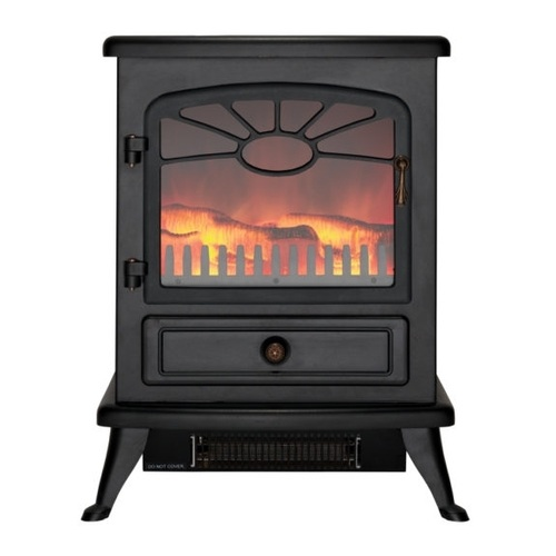 Focal Point ES2000 Electric Stove with Log Flame Effect   - Click to view a larger image
