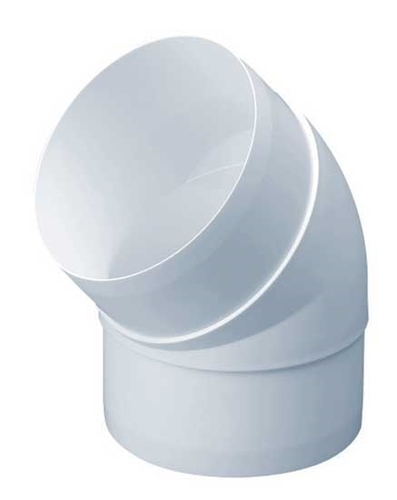 Domus Rigid Duct 45 Degree Bend  - Click to view a larger image