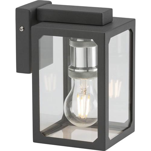 KnightsBridge IP23 E27 Wall Lantern  - Click to view a larger image