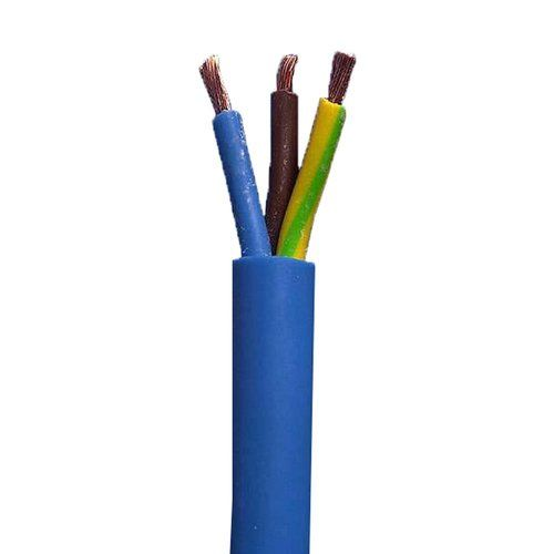 Zexum 4mm 3 Core Arctic Grade Flex Cable Blue Round 3183AG 4mm 3 Core Arctic 3183Y Blue Flexible Cable - 100m Roll - Click to view a larger image