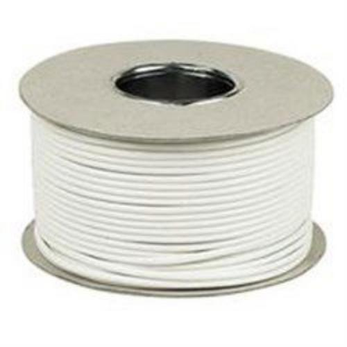 Zexum 2 Pair 4 Core Round White CCS Telephone Cable - 100 Meter