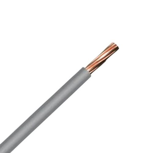 Zexum Grey 10mm 7 Strand 55A Single Core 6491B LSZH (Low Smoke Zero Halogen) Round Power Insulated Conduit Wire  - Click to view a larger image