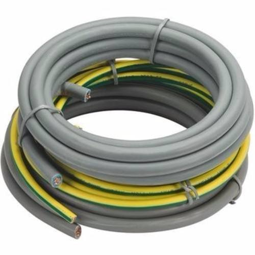 Zexum 3 Meters Grey 16mm 74A Blue Brown Meter Tails 6181Y & 3 Meters 16mm Green Yellow 6491X  - Click to view a larger image