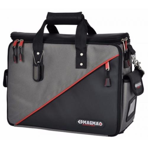 C.K Magma Black & Red Soft Technicians Electricians Tool Storage Case Bag  - Click to view a larger image