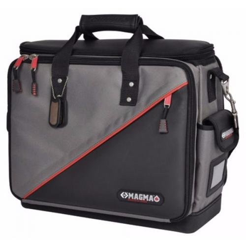 C.K Magma Black & Red Soft Technicians Electricians Tool Case Plus Storage Bag with Hard Waterproof Base  - Click to view a larger image