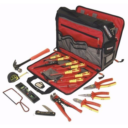 C.K Tools Premium 19 Piece Electricians Technicians Starter Tool Kit Set  - Click to view a larger image
