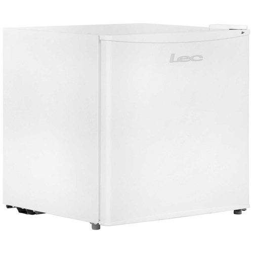 LEC White 46 Litre Free Standing Compact Table Top Mini Refrigerator Fridge A+ Rating  - Click to view a larger image