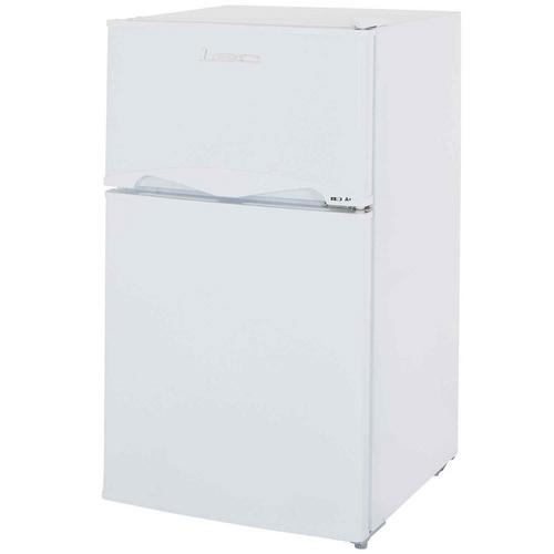 LEC White 92 Litre Under Counter Compact Fridge Freezer