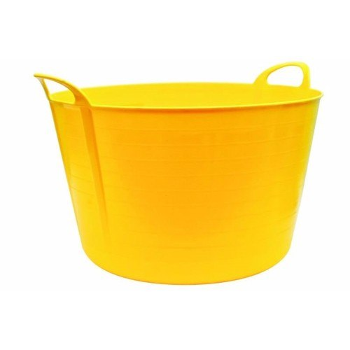 Compare prices for Rhino 75 Litre Heavy Duty Flexi Storage Tub - Yellow