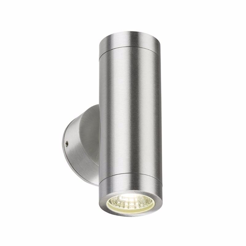 KnightsBridge 3W GU10 IP65 LED Up/Down Wall Light 1