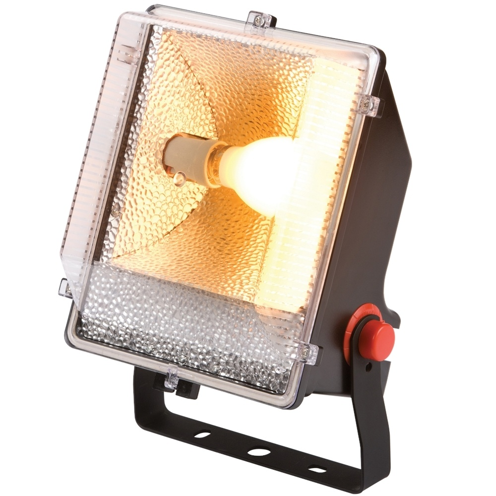 KnightsBridge IP65 70W SON Floodlight with Photocell Sensor 1