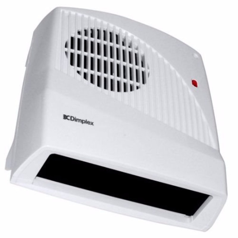 Dimplex Fx20v 2kw Electric Wall Mounted Downflow Fan Heater With Pull Cord Thermostat Click