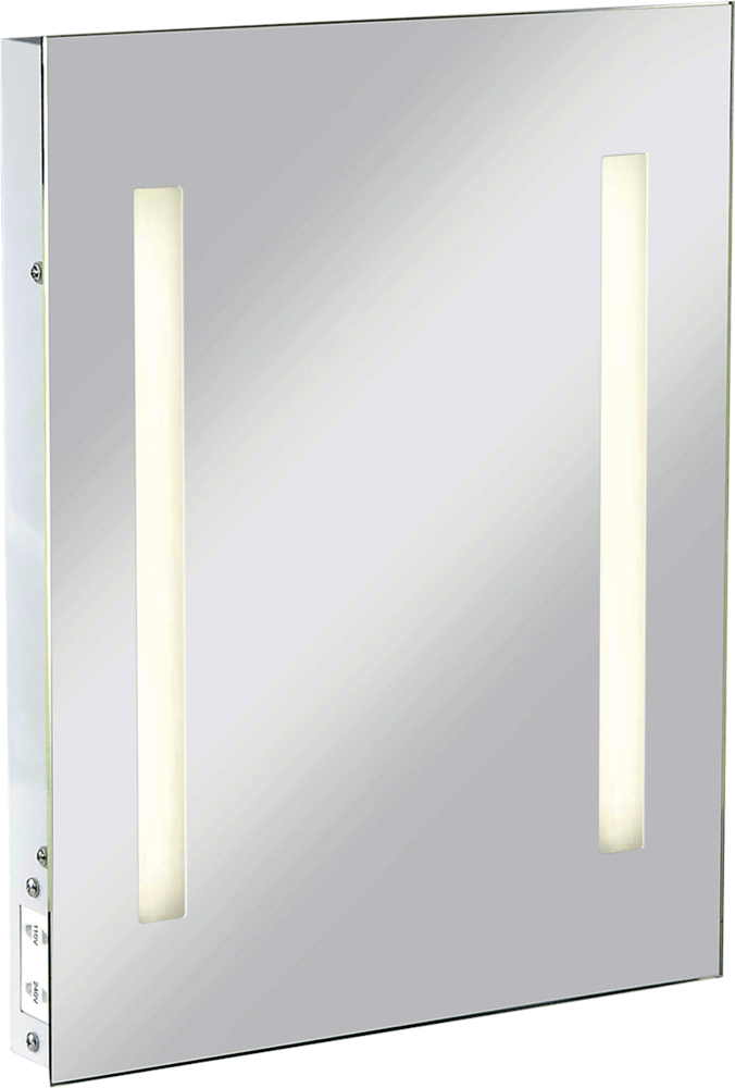 KnightsBridge Illuminated Bathroom Wall Mirror IP44 Rated with ...