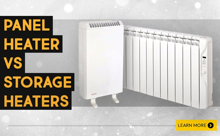 Storage heater vs Panel heater – which is best for you?