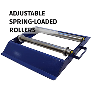 Cable Drum Roller Adjustable Spring-Loaded Rollers
