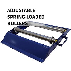 Cable Drum Roller Adjustable Spring-Loaded Rollers