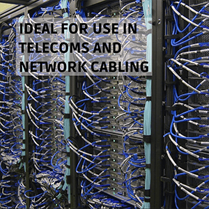 Ideal for Use in Telecoms and Network Cabling