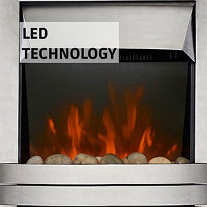 Lulworth LED Electric Fire